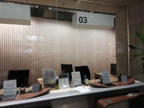 SNFCフランス国鉄の窓口