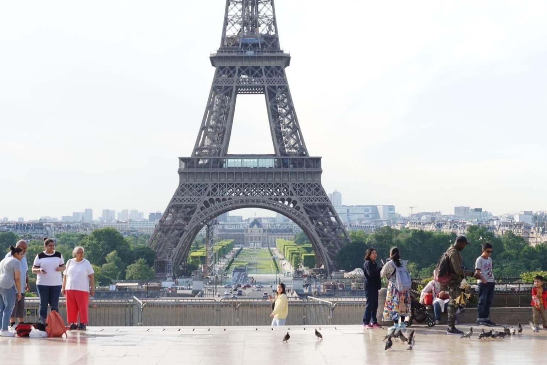 パリのエッフェル塔に行ってきました!おすすめの写真スポット4選!