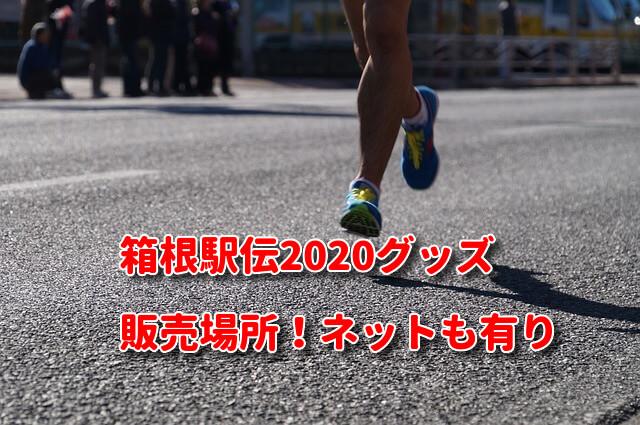 箱根駅伝2020グッズ!販売場所はココ!ネット