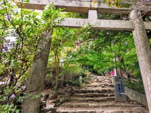 筑波山登山のおすすめコースとコース難易度
