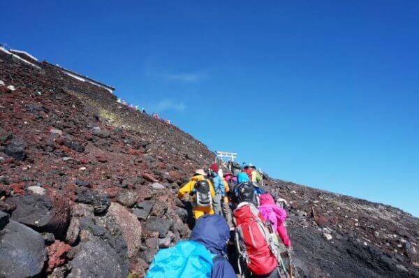 富士山登山は5歳児でも可能