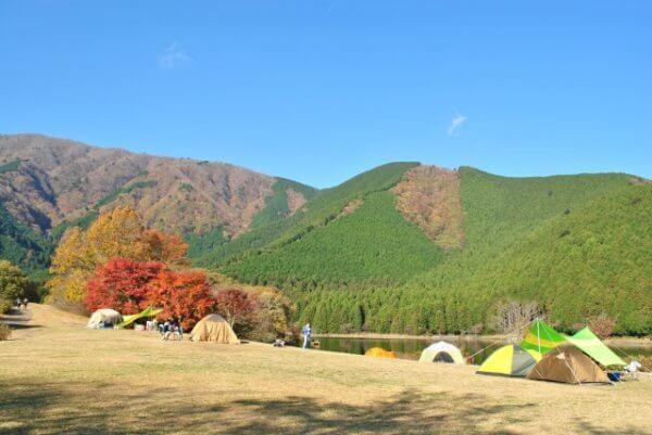 釣りができるキャンプ場!関東の穴場