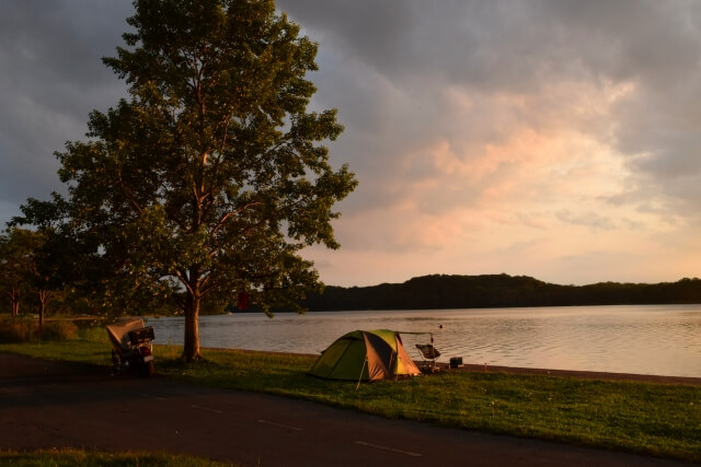 海釣りができるキャンプ場!静岡のスポット